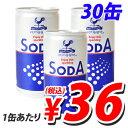 【枚数限定★100円OFFクーポン配布中】炭酸水 ソーダ 190ml 30缶