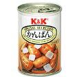 【枚数限定★100円OFFクーポン配布中】K&K 乾パン氷砂糖入り110g 1缶