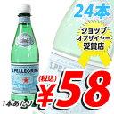 1本あたり58円(税込) 合計¥1900以上送料無料!サンペレグリノ 500mlPET 24本 (炭酸水) 【合計...