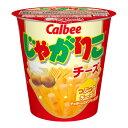 【枚数限定★100円OFFクーポン配布中】カルビー じゃがりこチーズ 1個