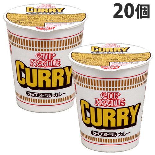 日清食品カレーヌードル20個ラーメンカップ麺インスタント麺即席麺麺類カップラーメンインスタントラーメン醤油ラーメンカレー