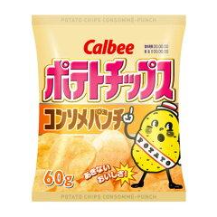 合計¥1900以上送料無料!カルビー ポテトチップスコンソメパンチ 1袋【合計¥1900以上送料無料...