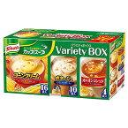 味の素 クノール カップスープ バラエティ 30食入り コーンスープ ポタージュ オニオンコンソメ インスタントスープ コーンクリーム 食品 スープ インスタント 大容量