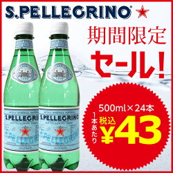 サンペレグリノ500mlPET24本
