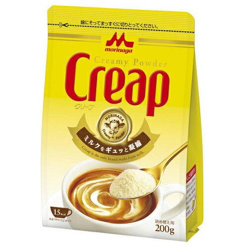 森永乳業クリープ詰め替え用200gコーヒーミルクフレッシュ粉