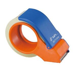合計¥1900以上送料無料!透明梱包用テープ OPPテープ 1巻 テープカッター付 キラットオリジナ...