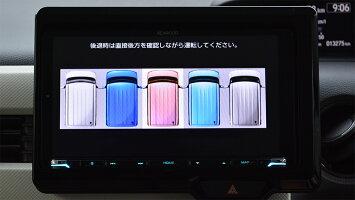 ホンダN-BOX用サテライトビューカメラ(全方位カメラシステム)<ステアリング連動対応>(取付工賃込み)TPH074SV