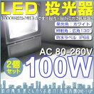 100WLED投光器