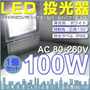 100WLED投光器