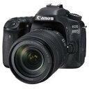 キャノンEOS 80D EF-S18-135 IS USM レンズキット2420万画素 デジタル一眼カメラ[EOS 80D EF-S18-135 IS USM レンズキット]【あす楽対応_関東】【国内正規品】【送料無料】