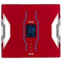 【_関東】【カード_OK】TANITARD-904 RD【送料無料】体重体組成計 インナースキャンデュアル レッド[RD904RD]