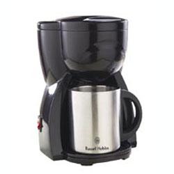 【送料500円】RussellHobbs(ラッセルホブス)10973JPパーソナルコーヒーメーカー ダブルステン...