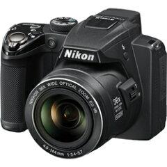 【あす楽対応_関東】NIKON(ニコン)1210万画素 光学36倍ズーム デジタルカメラCOOLPIX P500 ブ...