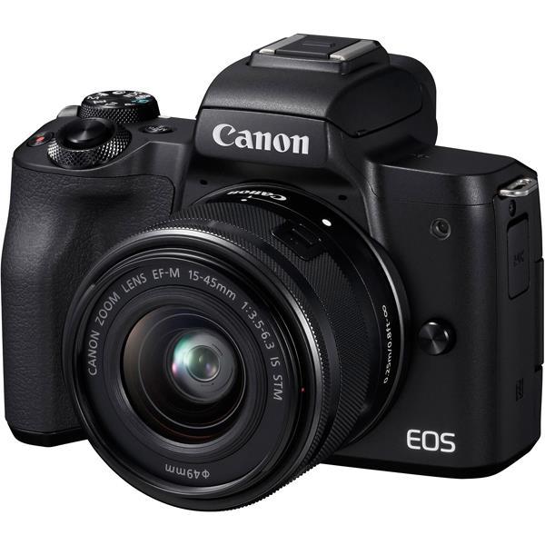 デジタルカメラ, ミラーレス一眼カメラ CANONEOS Kiss M EF-M15-45 IS STM 2410 4549292109191