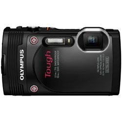【あす楽対応_関東】【カード_OK】【送料無料】オリンパスSTYLUS TG-850 Tough ブラック【ソフトカメラケース付】1600万画素 デジタルカメラ[TG850]