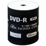 【あす楽関東_対応】HIDISK(ハイディスク) DVD-R 18倍速 100枚シュリンクパック DR47JNP100_BULK[DR47JNP100BULK][4984279120316]