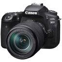【あす楽関東_対応】CANON(キヤノン)EOS 90D EF-S18-135 IS USM レンズキット【国内正規品】3250万画素 デジタル一眼カメラ【送料無料】[4549292138436]