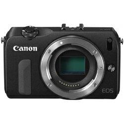 【あす楽対応_関東】CANON(キヤノン)EOS M ボディ ブラック【送料無料】ミラーレスカメラ EOS M
