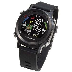 【あす楽対応_関東】【送料無料】朝日ゴルフ用品腕時計型 GPSゴルフナビEAGLE VISION watch ACE EV-933 [ブラック][4981318475680]