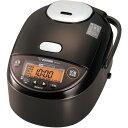 ZOJIRUSHI(象印)NP-ZU10 TD[NPZU10TD]圧力IHジャー炊飯器極め炊き 5.5合炊き ダーク