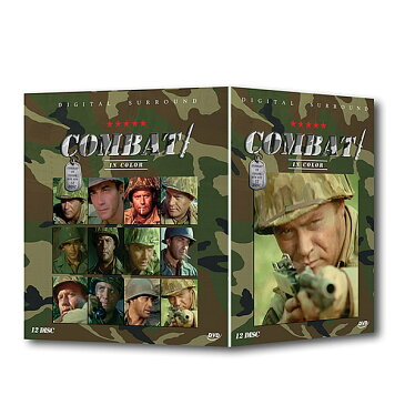 DVD BOX コンバット COMBAT 12巻セット 全24話 フルコンプリート DVDBOX 海外ドラマ 戦争 軍隊 サバイバル サバゲー サンダース軍曹 名作 CMB-12DVD [あす楽]