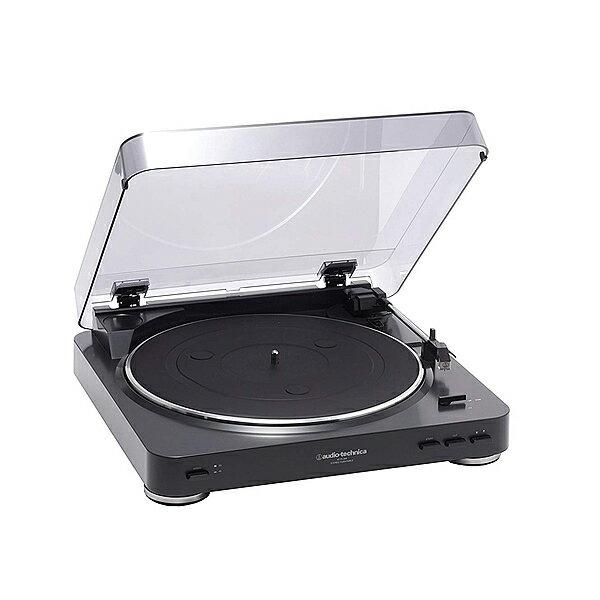 オーディオテクニカ audio-technica ステレオターンテーブルシステム AT-PL300 BK(ブラック) レコードプレイヤー ワイヤレス アナログプレーヤー DJ 音楽 レコード クラシック フルオート再生 []