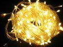 防水 屋外装飾用 防水国際基準IP44 1000球迄連結可能 LED ベーシック ゴールド 100球 送料無料(...