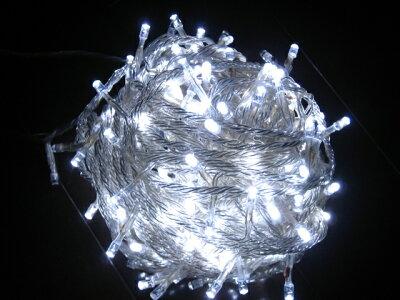 防水 屋外装飾用 防水国際基準IP44 1000球迄連結可能 LED ベーシック ホワイト 100球 送料無料(...