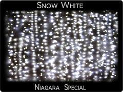 防水 屋外装飾用 防水国際基準IP44 1216球迄連結可能 LED ナイアガラ ホワイト 304球 送料無料 ...