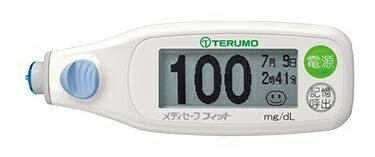 テルモメディセーフフィット(ブルー)血糖測定器本体1台