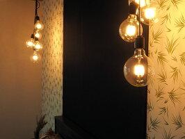 ペンダントライト5灯照明間接シーリングダイニングリビング玄関おしゃれLEDカフェインダストリアルブルックリン人気ブランブラン[フレアー]BLN3