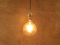 【フィラメントLED電球「Siphon」ボール125LDF32A】E26暖系電球色クリアガラスレトロアンティークインダストリアルブルックリン