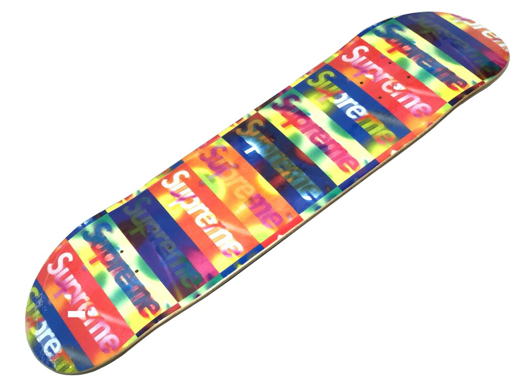 パーツ, デッキ SUPREME 20SS Distorted Logo Skateboard YELLOW