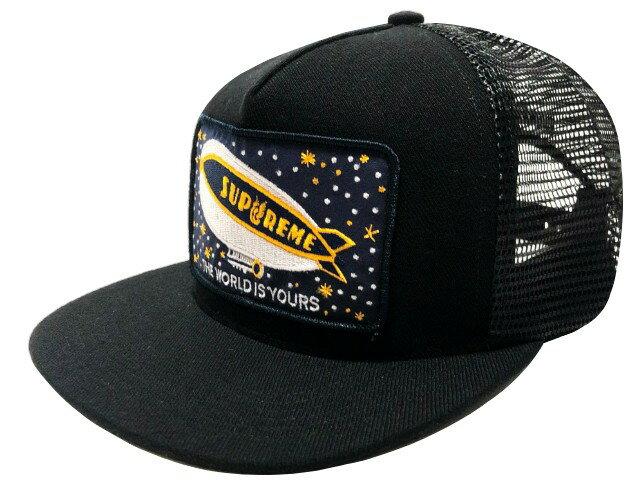 メンズ帽子, キャップ SUPREME 20AW Blimp Mesh Back 5-Panel CAP 5 BLACK