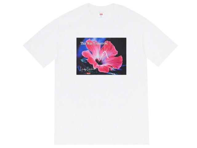 トップス, Tシャツ・カットソー SUPREME 20AW Yohji This Was Tomorrow Tee WHITE T