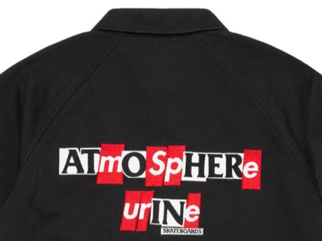 メンズファッション, コート・ジャケット SUPREME 20AW ANTIHERO Snap Front Twill Jacket BLACK