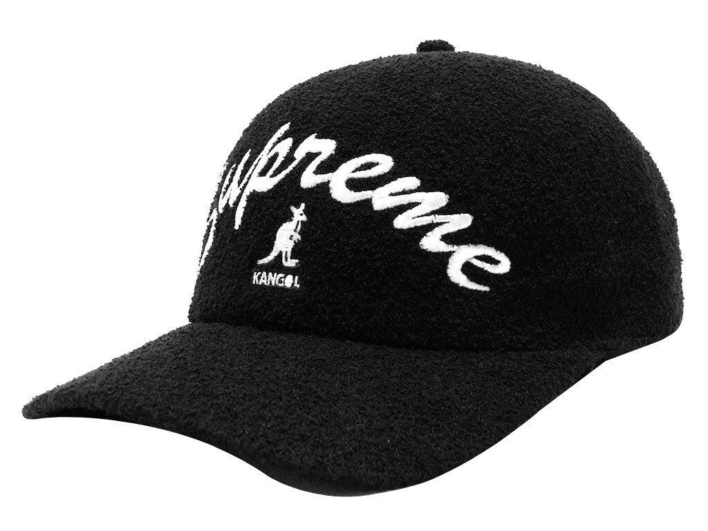 メンズ帽子, キャップ SUPREME 21SS Kangol Bermuda Spacecap BLACK