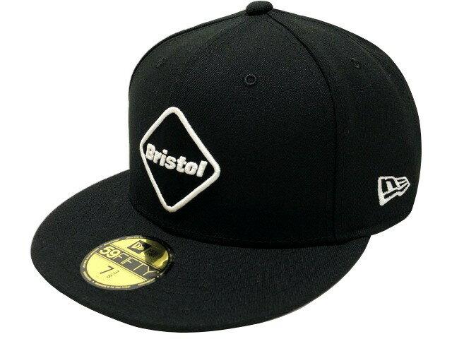 メンズ帽子, キャップ SOPHNET. F.C.Real Bristol 19AW NEW ERA EMBLEM 59FIFTY GORE-TEX BLACK