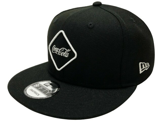 メンズ帽子, キャップ SOPHNET. F.C.Real Bristol 20SS NEW ERA COCA-COLA 9FIFTY SNAP SNAP BACK BLACK