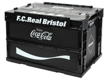 F.C.Real Bristol エフシーレアルブリストル コカ・コーラ コラボ 20SS 新品 黒 COCA-COLA FOLDABLE CONTAINER コンテナ ボックス 折りたたみ BLACK FCRB SOPHNET.