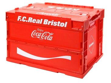 F.C.Real Bristol エフシーレアルブリストル コカ・コーラ コラボ 20SS 新品 赤 COCA-COLA FOLDABLE CONTAINER コンテナ ボックス 折りたたみ RED FCRB SOPHNET.