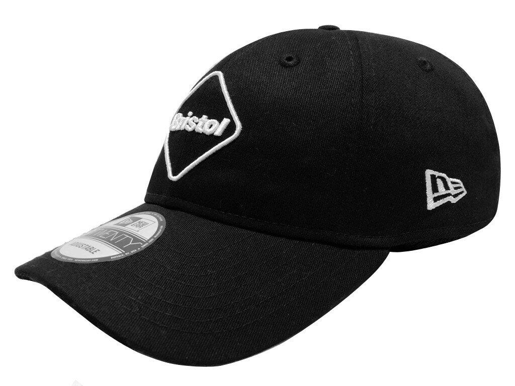 メンズ帽子, キャップ SOPHNET. F.C.Real Bristol 21SS NEW ERA EMBLEM 9TWENTY CAP BLACK