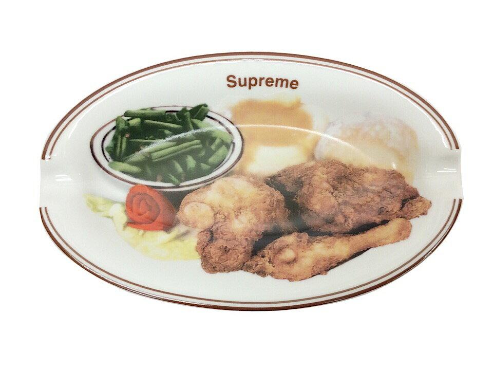 喫煙具, 灰皿 SUPREME 18SS Chicken Dinner Plate Ashtray WHITE