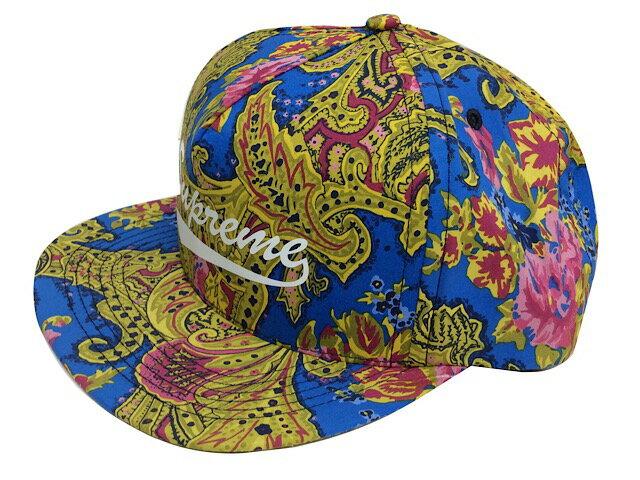 メンズ帽子, キャップ SUPREME 17AW Paisley 5-Panel cap 5 BLUE