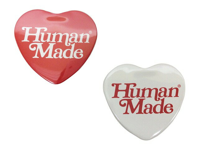 バッグ・小物・ブランド雑貨, その他 HUMAN MADE GIRLS DONT CRY OPEN 19SS HEART BADGE