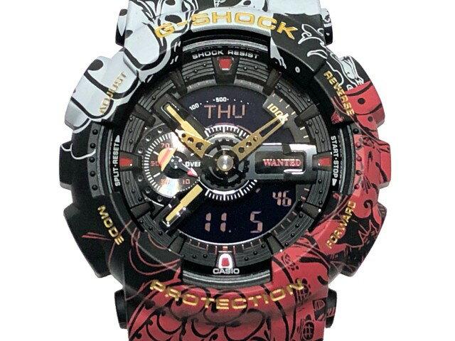 腕時計, メンズ腕時計 G-SHOCK ONE PIECE GA-110JOP-1A4JR CASIO 2020 G GA-110 BLACK