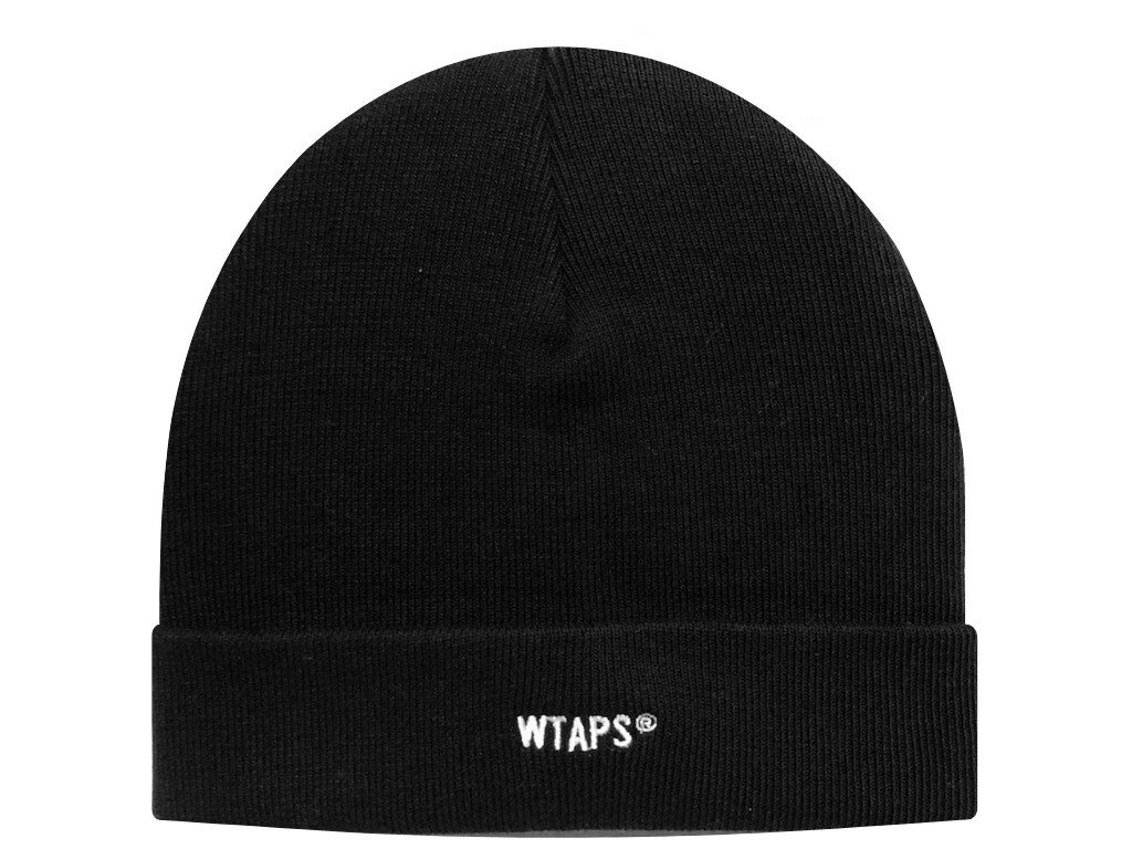 メンズ帽子, ニット帽 WTAPS 21SS BEANIE 03 BEANIE COPO. COOLMAX BLACK