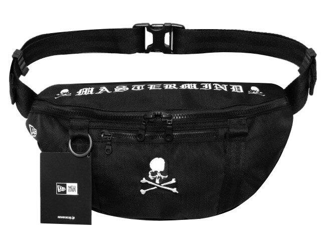 男女兼用バッグ, ボディバッグ・ウエストポーチ mastermind JAPAN NEW ERA 21SS Waist Bag 2L BLACK