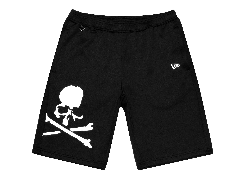 メンズファッション, ズボン・パンツ mastermind JAPAN 21SS NEW ERA MMJ PA WARM UP HALF PANTS BLACK