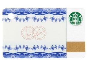 fragment design ×  UNDERCOVER x STARBUCKS フラグメントデザイン アンダーカバー スターバックス 限定☆2015新品 ミニスターバックスカード  白青 セラミック スタバ
